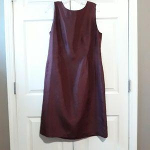 Adrianna Papell | Silk shift dress plus size 16
